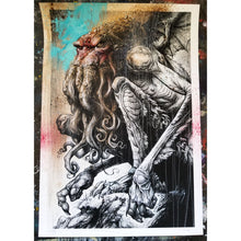 """Our Savior Has Returned"" Hand Embellished 12.5x18 Print"