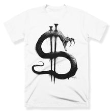 """The Great Snake Rules Forever"" White T-shirt"