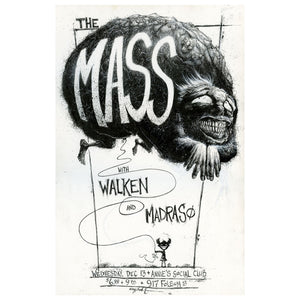 """The Mass"" Original Illustration"