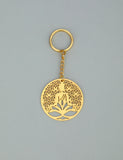Adoraa's Rythym Collection Buddha Brass Key Chain