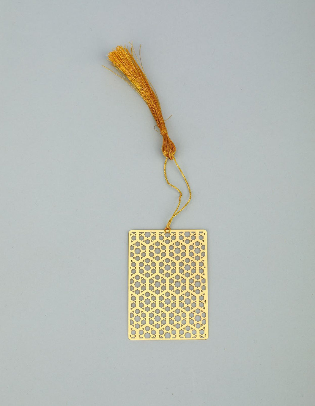 ADORAA's Hexa Taj Golden Brass Metal Bookmark
