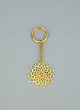 Adoraa's Noor Collection Jaali Brass Key Chain