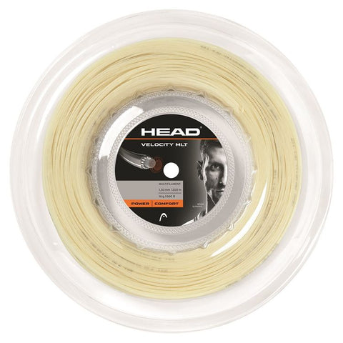 HEAD Synthetic Gut PPS  Gold 1.30mm Tennissnaar op rol 200m