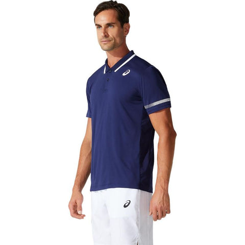Asics Court M Tennis Polo Shirt Heren