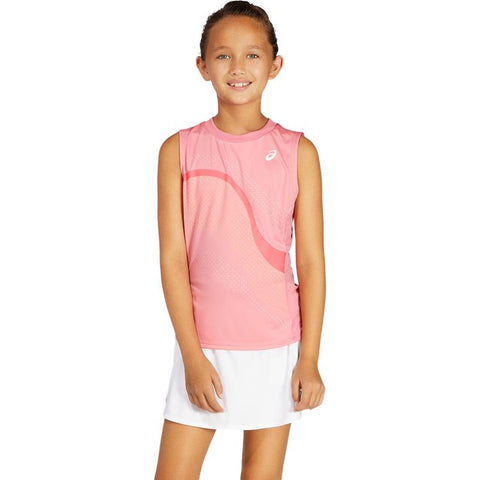 Asics G GPX Tank Top Junior Roze