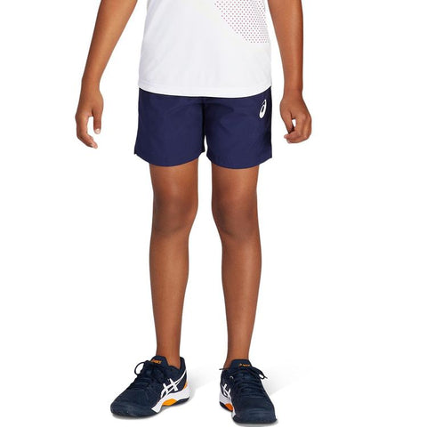 Asics B Short Junior Blauw