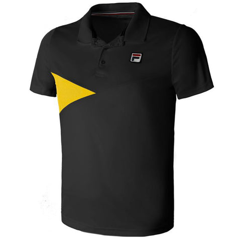 Fila Nino Polo Shirt Heren Zwart