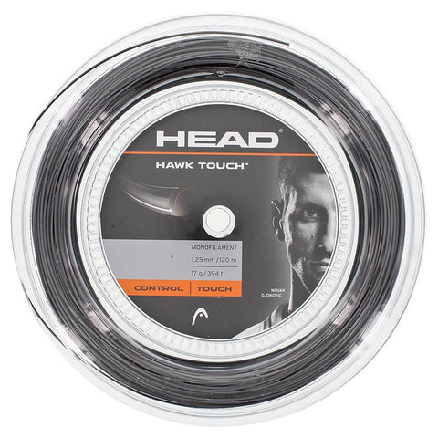 HEAD Hawk Touch 1.25mm Tennissnaar op rol 120m