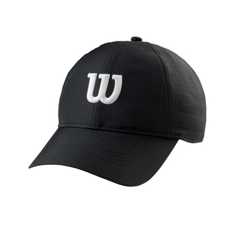 Wilson Ultralight Tennis Cap Zwart