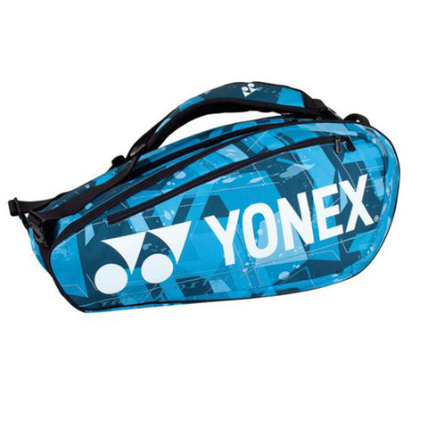 Yonex Pro Racket Bag 9R Tennistas Water Blauw