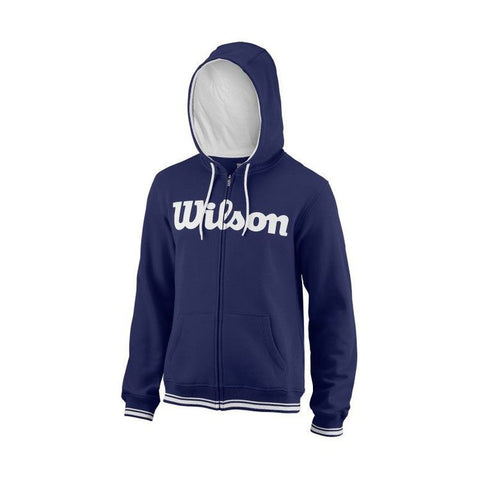 Wilson Team Script Full Zipp Hoody Heren