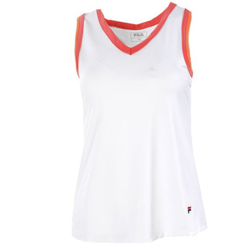 Fila Eva Tank Top Dames Wit