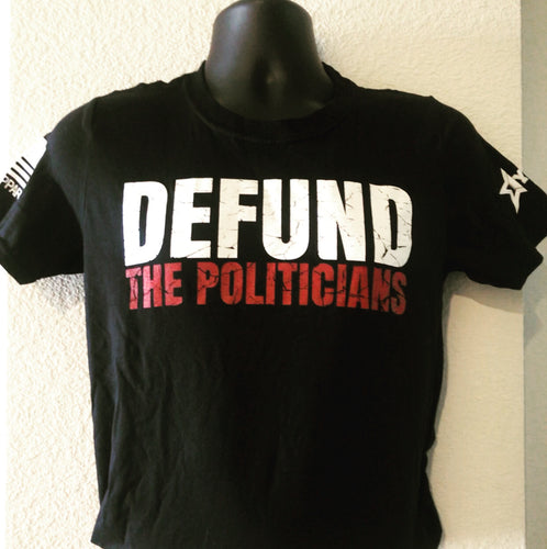 DEFUND THE POLITICIANS