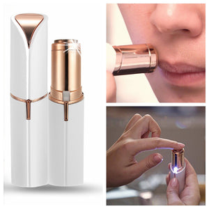 Lipstick Design Electric Facial Hair Remover Shaver For Personal Face Care