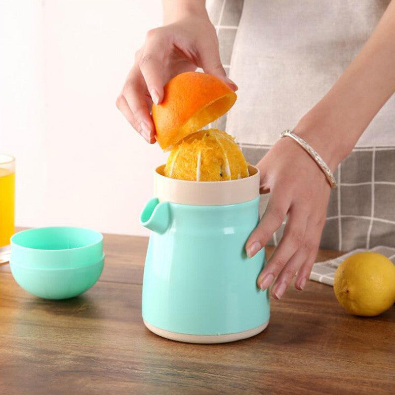 Manual Juicer Squeezer (includes strainer and container)