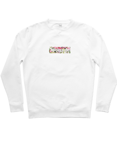 "SWEAT-SHIRT COL ROND | ""SUCEPUTE FLOWERS"""