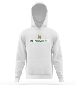 "SWEAT-SHIRT CAPUCHE | ""MONUMONTRE"" - Blanc"
