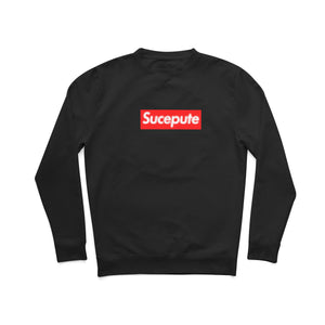 "SWEAT-SHIRT COL ROND | ""SUCEPUTE VERSION CRYPTÉE"""