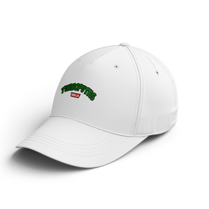 "CASQUETTE BASEBALL | ""TORTUES PUTES"" - Blanc"