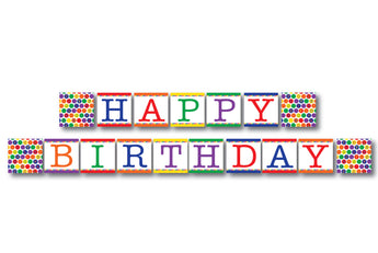 ABC Happy Birthday Banner - DIY