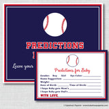 Baseball Baby Shower Games Set