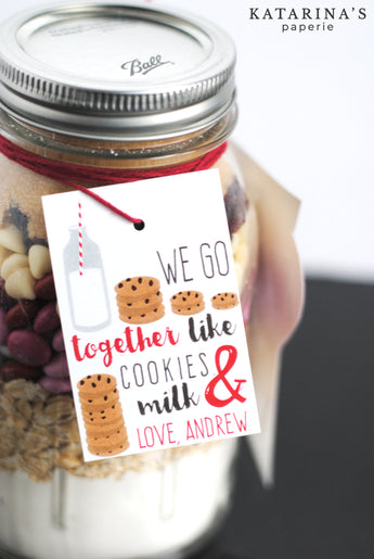Cookie Valentine's Day Tags
