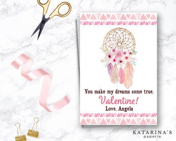 Dreamcatcher Valentine's Day Card