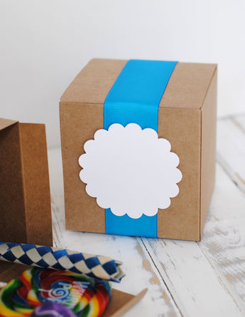 Medium Kraft Favor Boxes