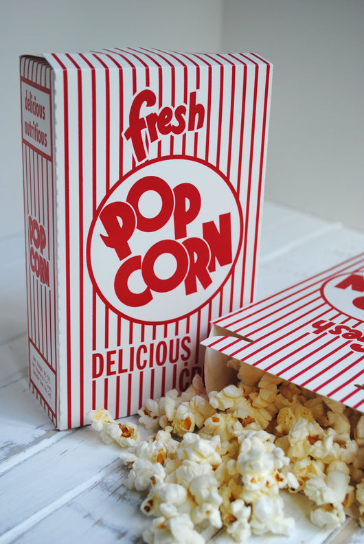 Closed Popcorn Boxes
