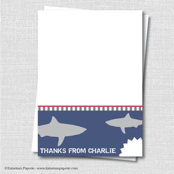 Shark Thank You Notecard
