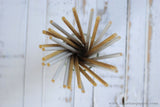 Gold and Silver Chevron Mix Paper Straws