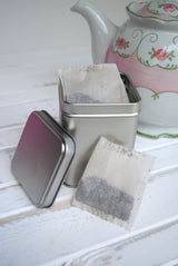 Tall Tea Tin Favor Boxes