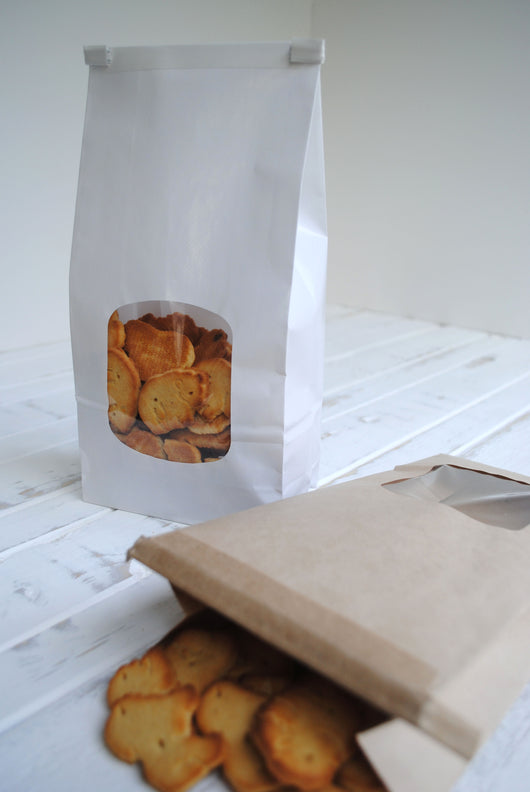 White Bakery Bags