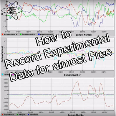 How to record experimental data without expensive equipment and software