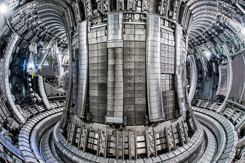 JET Hot Fusion Reactor