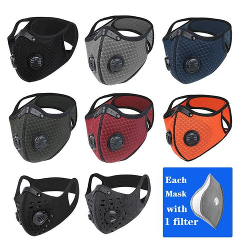 Techwear KN95 outdoor pollution filter mask