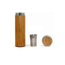 Load image into Gallery viewer, Bamboo Tumbler/Thermos 450 ml