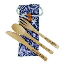 Load image into Gallery viewer, Bamboo Cutlery Set - Basic edition