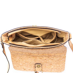 Ladies Cork Bag - Flower Pattern