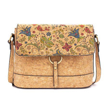 Load image into Gallery viewer, Ladies Cork Bag - Flower Pattern