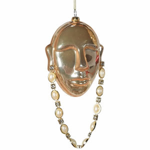 Glass Face Bauble w/ Chain - HAYGEN