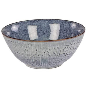 Broste - 'Nordic Sea' Stripe Deep Bowl Large