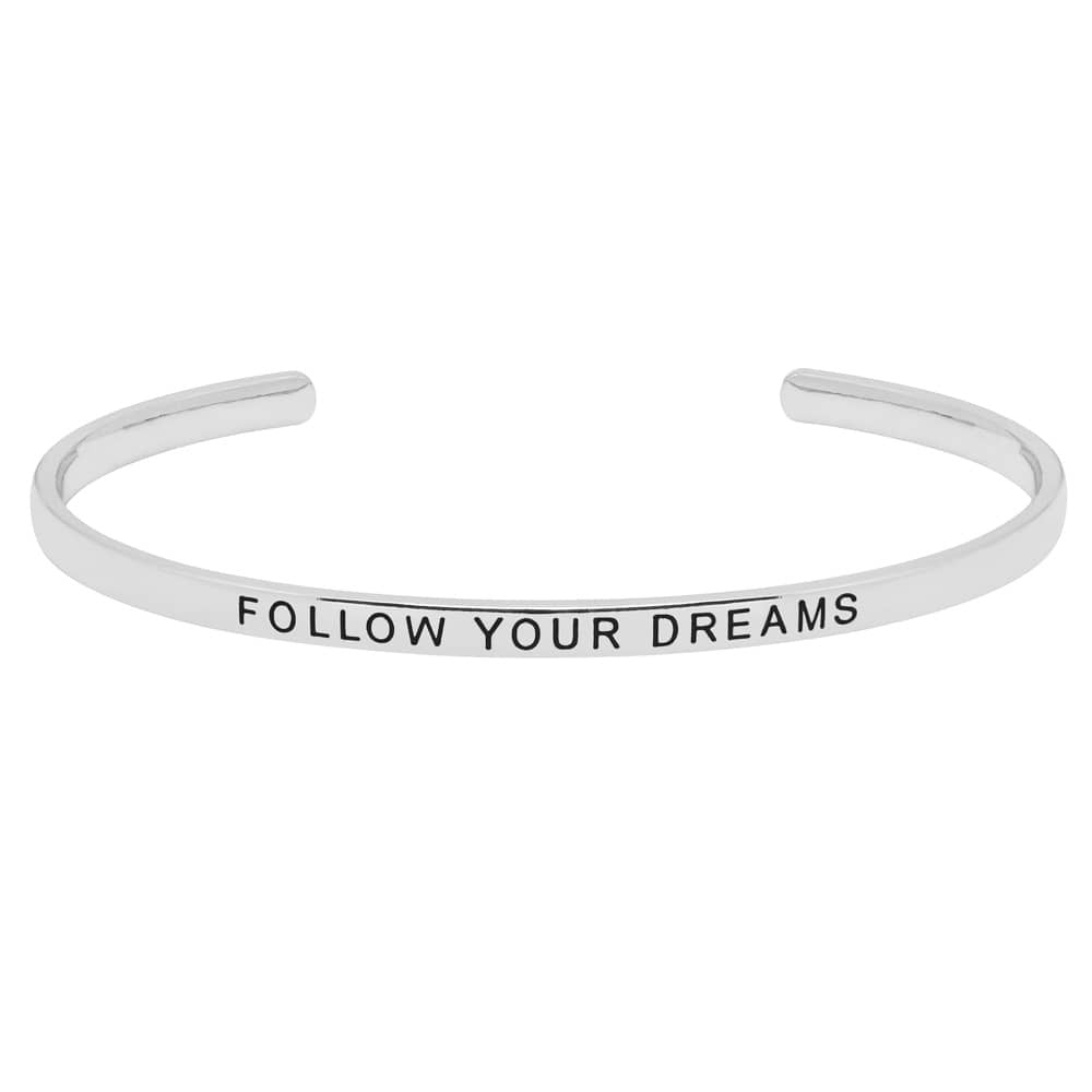 Estella Bartlett - Follow Your Dreams Cuff - Silver - HAYGEN