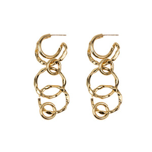 Agatha Long Chain Earrings - HAYGEN