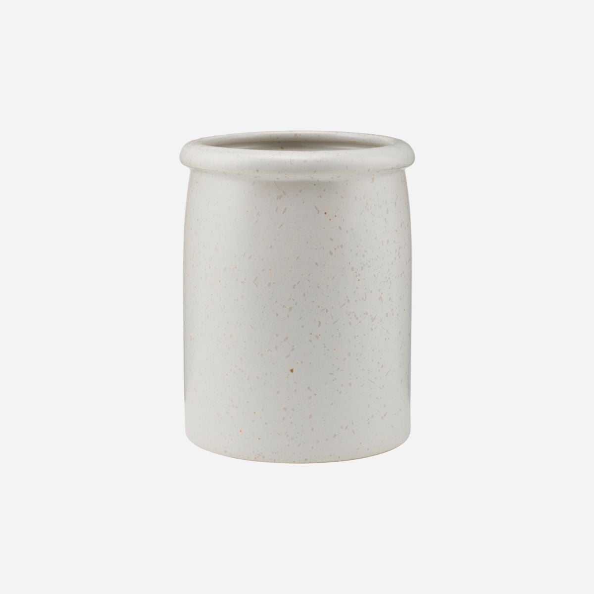 House Doctor - Pion Jar - Grey/White - HAYGEN