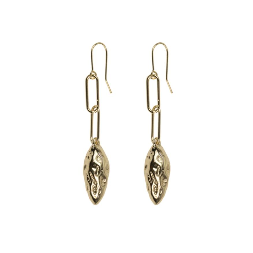 Nell Nugget Dangle Earring - HAYGEN
