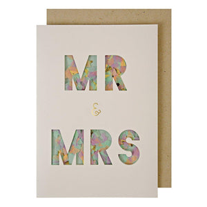 Meri Meri Mr and Mrs Confetti Shaker Card