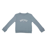 Bob & Blossom - Steel Blue 'Brother' Sweatshirt - HAYGEN