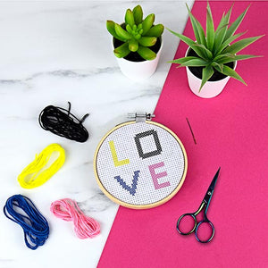 DIY Cross Stitch Kit - HAYGEN