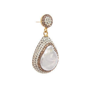 Soru - Baroque Pearl Earrings - HAYGEN